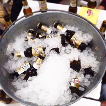 Barreños de cerveza